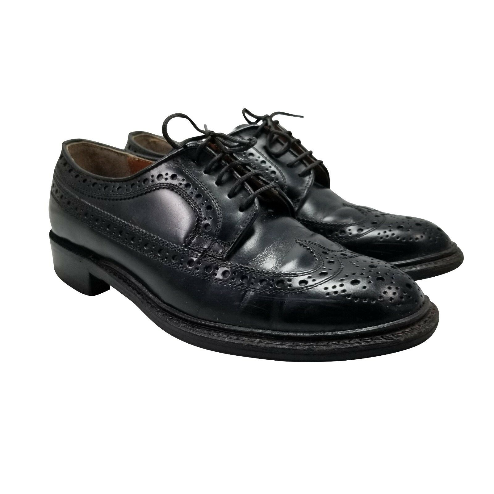 Regal Men's Size 7 Wingtip Brogue Oxford shoes Leather Kumkang Imperial Grade