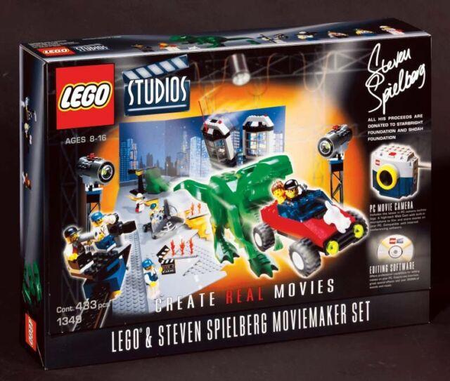 Lego Steven Spielberg Moviemaker Set 1349 Ebay