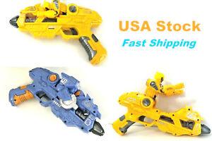 Transformation Gun, Transformer, Optimus Prime, Bumblebee,Sound Light Electronic
