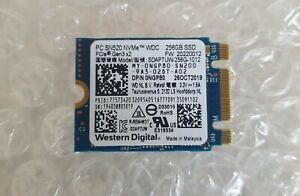 WESTERN DIGITAL PC SN520 256GB M.2 2230 NVMe SSD SDAPTUW-256G-1012  Dell Laptop