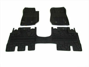 2014 Jeep Wrangler 4 Door JK OEM Floor Slush Mats Black Mopar 82213860