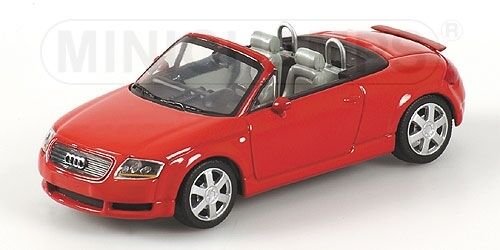 Audi TT Roadster 1999 rojo 1 43 Model Minichamps
