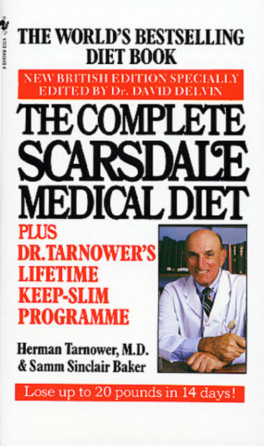 The Complete Scarsdale Medical Diet by Herman Tarnower|Samm Sinclair Baker