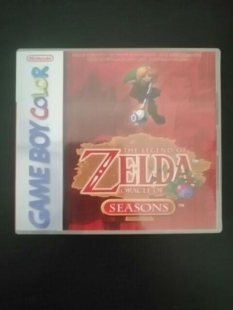 Zelda Oracle of Seasons Nintendo Gameboy Color Genuino (R&R)