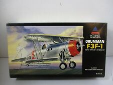 1/48 SCALE ACCURATE MINIATURES F3F-1 CLASSIC NAVY FIGHTER MODEL KIT