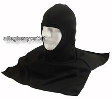Black Polypro Fleece BALACLAVA with DICKIE Baclava Face Mask Ski Hood NEW
