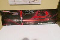 Scellé Nouveau Kylo Ren Force FX Sabre Laser Star Wars The Black Series 04 Rouge