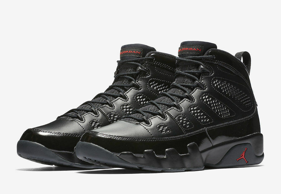 Jordan Hombres Nike 9 Air 302370 014 Universitario Rojo