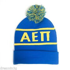 e95be47cde8 Alpha Epsilon Pi AEPi Fraternity Knit Beanie Pom Winter Hat