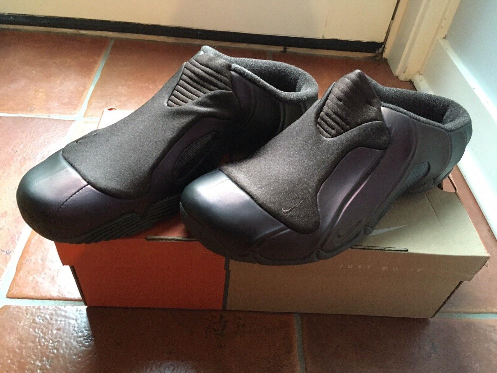 Nike clogposite II. Purple AIR FLIGHTPOSITE slip on