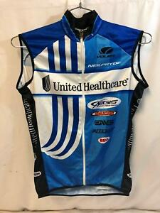 Image is loading United-Healthcare-Vermarc-Mens-Pro-Cycling-Vest-Medium- 1f777c8b8