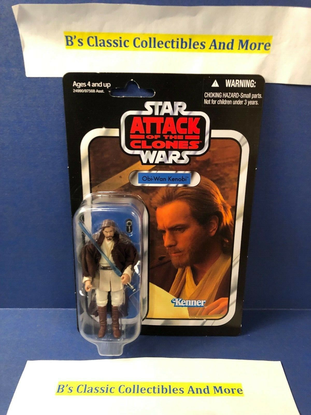 Star Wars Obi-Wan Kenobi Figure The Vintage Collection VC31 AOTC New