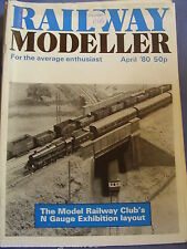 RAILWAY MODELLER APRIL 1980 CHILTERN GREEN MERIONETH ROWSLEY CRAIGSHIRE MADELEY