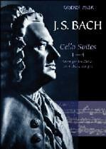 Bach Cello Suites 1-4 Wright Guitare-afficher Le Titre D'origine Beau Travail