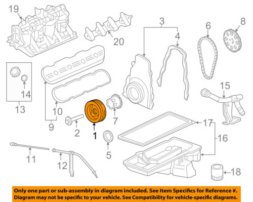 GM OEM-Engine Harmonic Balancer 19300488