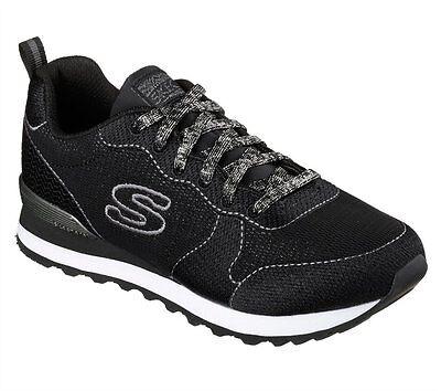 Skechers Sneaker Donna OG 85 Shimmer Time 117BLK Nero