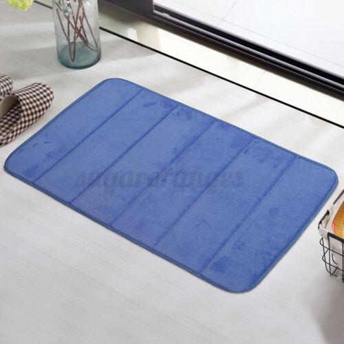 17 x 24/'/' Memory Foam Bathroom Rug Absorbent Bath Mat Set Rug Non Slip Bath
