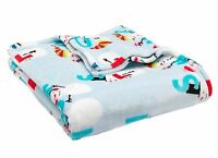 The Big One Snowman Plush Oversized Throw Blanket 60x72 (5x6) $40