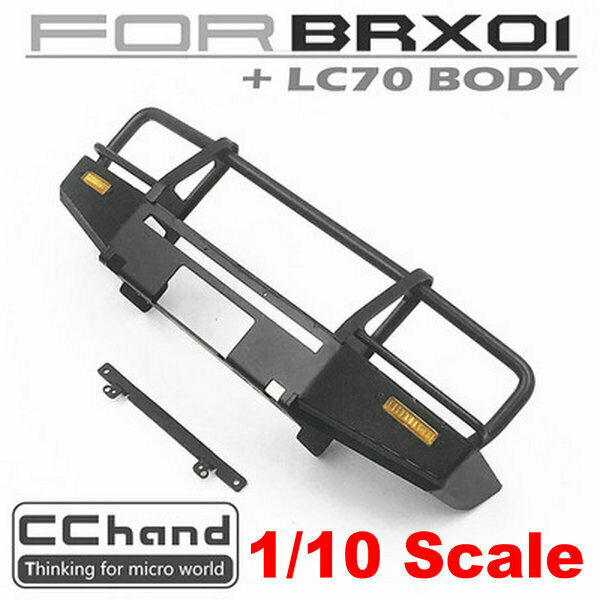 Cc Mano Metal ARB Parachoques para boomracing BRX01 + 1 10 KILLERBODY LC70 Cuerpo