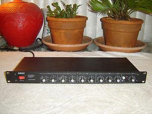 Ashly-PQ63-Three-Band-Parametric-Equalizer-Eq-Vintage-Rack