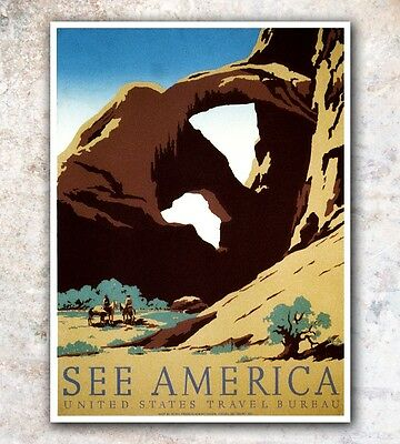 """Vintage Travel Poster Africa Art 12x16/"""" Rare Hot New A8"""