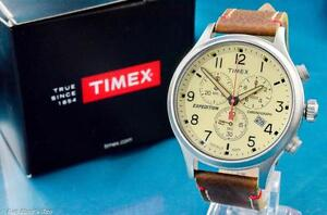 HANDSOME-NEW-MENS-TIMEX-43MM-VINTAGE-MILITARY-AVIATOR-TYPE-CHRONOGRAPH-WATCH