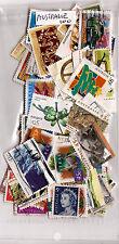 AUSTRALIE 100 timbres oblitérés TOUS DIFFERENTS bon etat NK