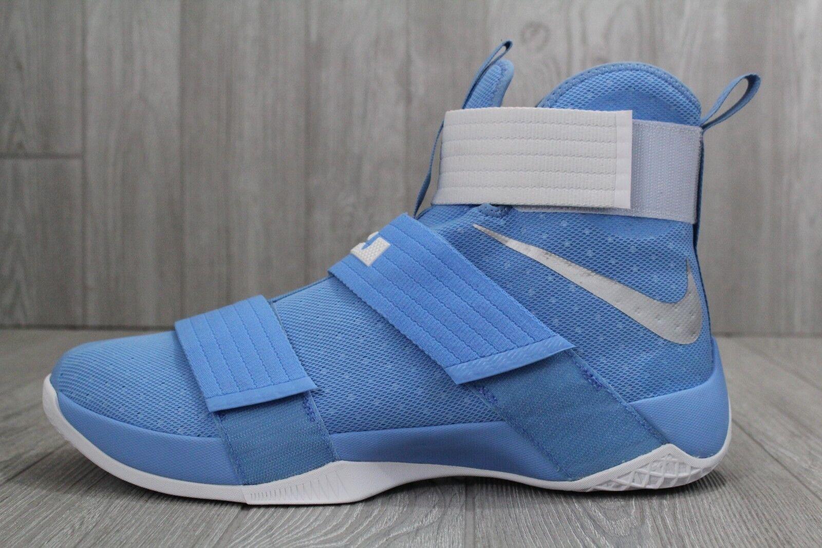 30 New Size 15.5 Nike Lebron LBJ Soldier 10 TB Promo University Blue 856489-443