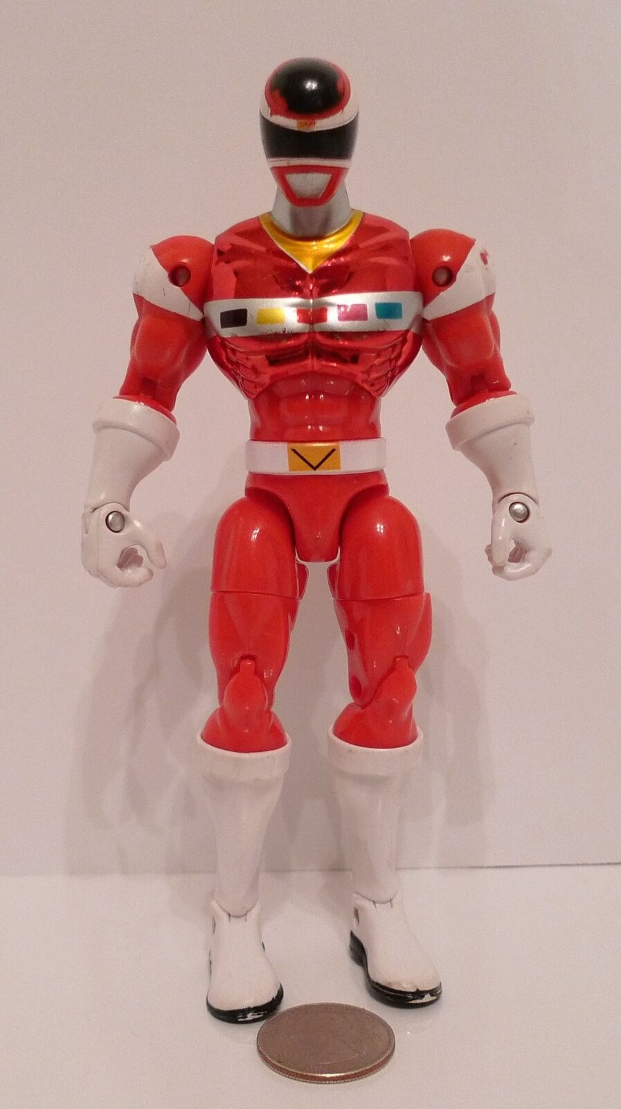 Power Rangers in Space Special Metallic Armor ROT Ranger 6.5