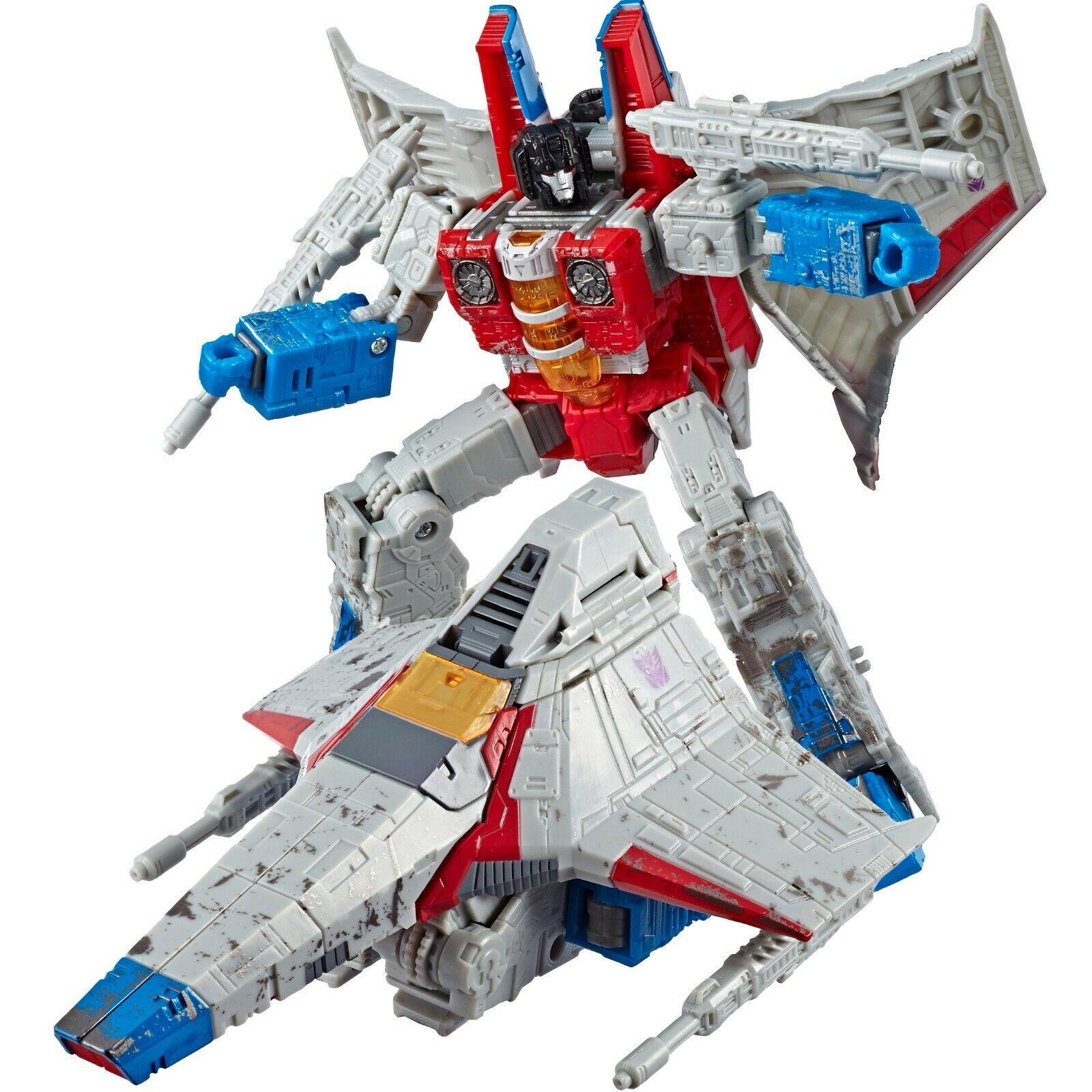 Transformers SIEGE WFC War Cybertron W2 W2 W2 Voyager Soundwave & Starscream Set New e03e6f