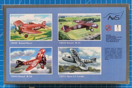 1//72 Lee-Richards Annular Monoplane AviS 72036