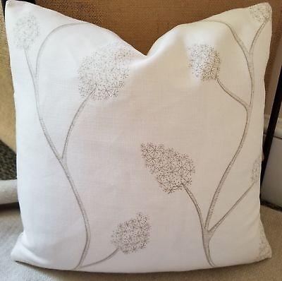 Lee Jofa Groundworks Allegra Hicks Coll Wisteria Linen Pillow Cover 18 X18 Ebay