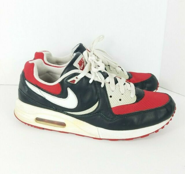 9dcc0a89d3 Vintage 2007 NIKE AIR MAX LIGHT Red Gray White US 9.5 Trainers VTG ...
