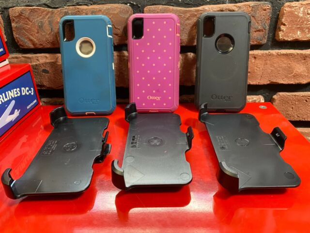 LOT OF 3 OTTERBOX Defender Series Screenless Edition Case for Apple iPhone XR
