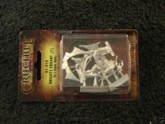 Ral Partha 91-011 Crucible Royal Elves Storm Rider 1 Miniature Elf on Sled NOS