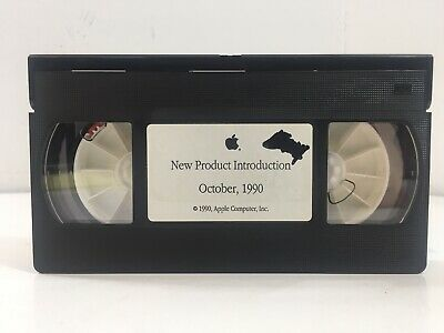 Apple New Product Information - October 1990 - Vhs Tape Betrouwbare Prestaties