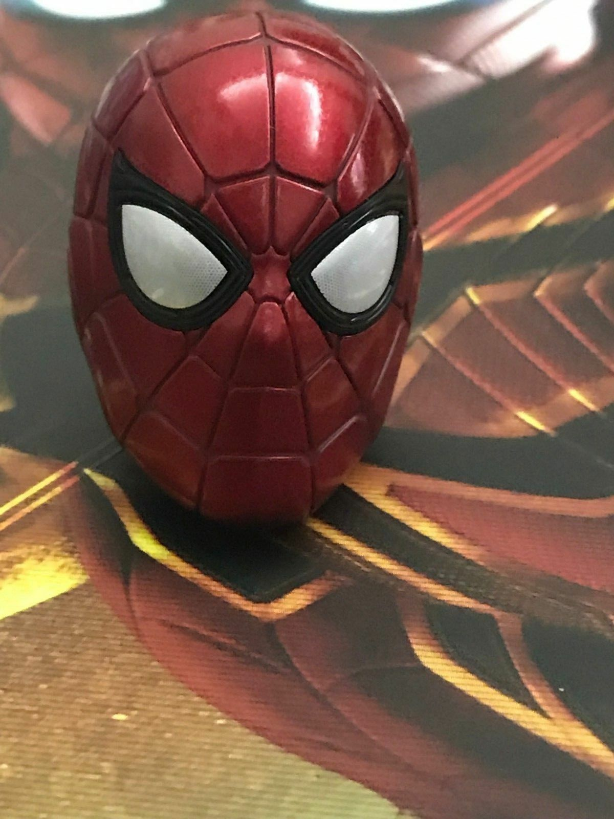Iron Spider Hot Hot Hot Toys Head Avengers 3 Spider-Man IronSpider 1 6 Mask Infinity War 1298ae
