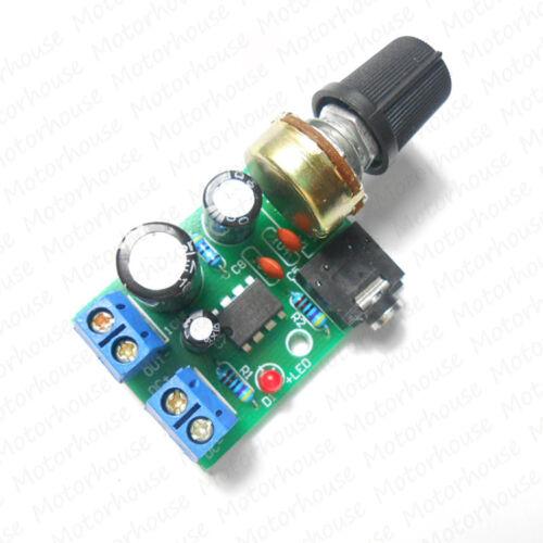 LM386 Audio HIFI Power Amplifier Board DC 3V~12V 5v Mini AMP Module 3.5mm jack