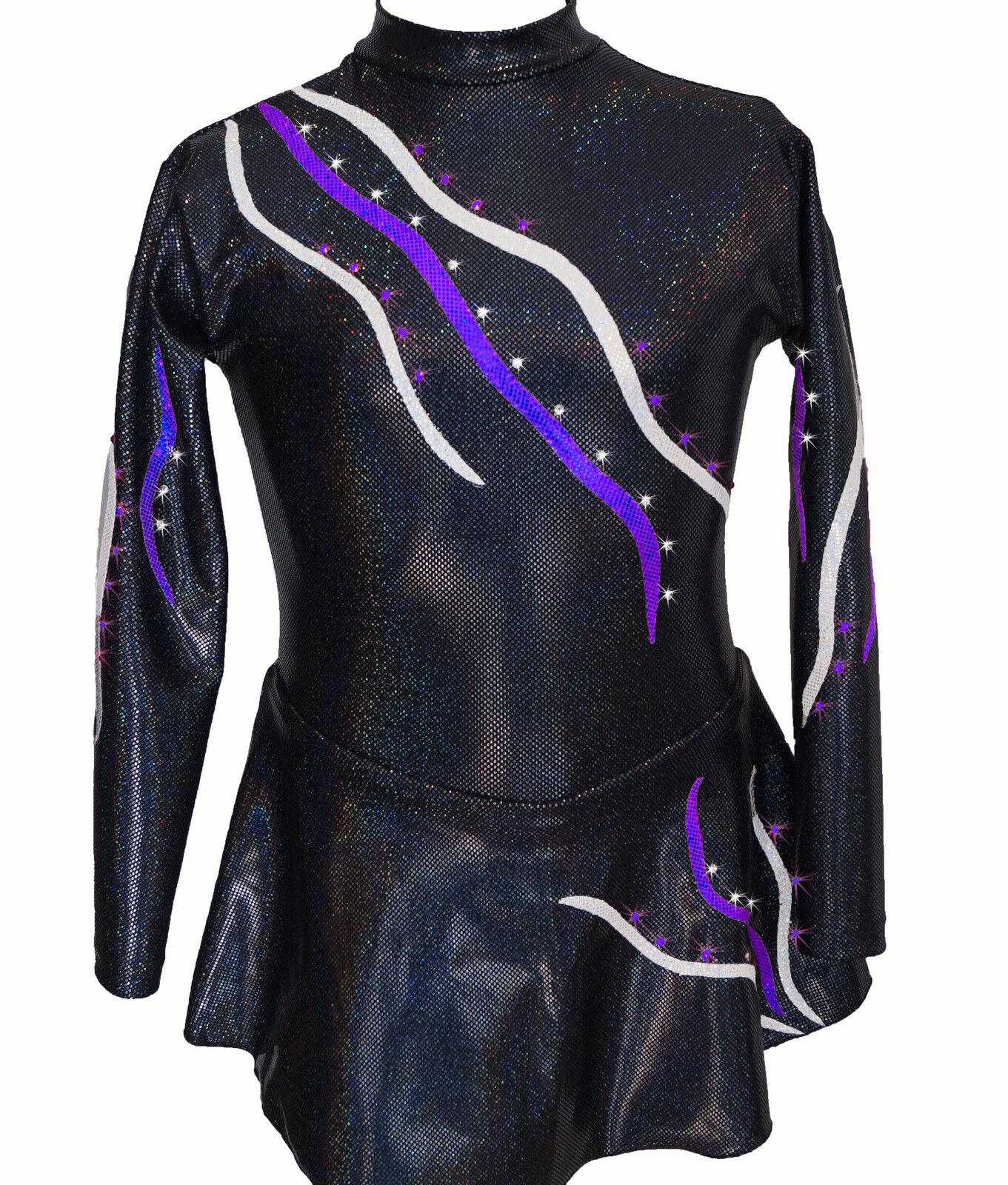 Kürkleid, E165,Hologramm, Strass, Eiskunstlauf, Rollkunstlauf, RSG RSG RSG 855792