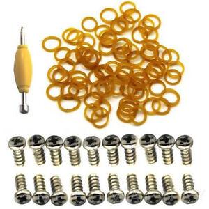 50pcs-Leg-Screws-amp-50x-O-Rings-Orings-Bands-Accessory-For-GI-Joe-Cobra-Figure