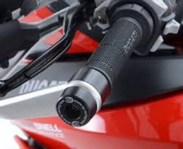 Ducati Multistrada 1200 2015 R/&G Racing Bar End Sliders BE0098BK Black