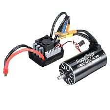 Racerstar 4076 Brushless Waterproof Sensorless Motor 2000KV 120A ESC 1/8 Cars RC