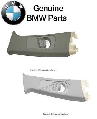 For BMW 323i 325xi 328i Light Gray Upper Driver Left B Pillar Trim Panel Genuine