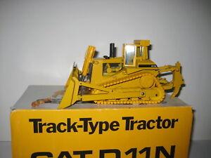 Caterpillar D 11 N Bouteur Pacman Logo #2852.2 Conrad 1:50 Neuf Dans Sa Boîte-afficher Le Titre D'origine Prix De Vente