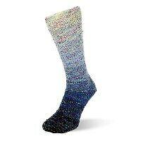Flotte Socke 4f Regenbogen Multi 1484 blau bunt 2er Knäuel f gleiche Socken 1A