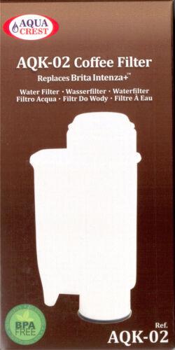 1 - 20 ST Filter Cartridge aquacrest compatible with Brita © Intenza   PLUS NEW