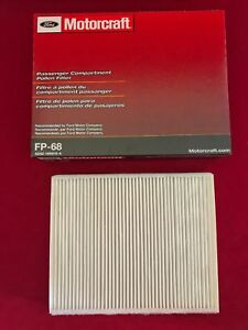 Details About New Genuine Oem Ford Motorcraft Cabin Air Filter Fp68 Ae9z 19n619a Free Shipping