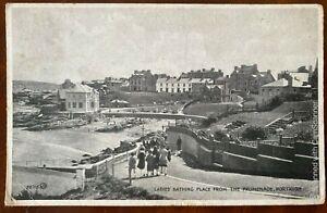 Ladies-Bathing-Place-Promenade-Portrush-Postcard-Co-Antrim-Northern-Ireland-1931