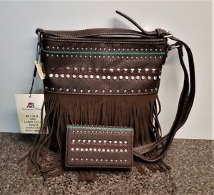Image Is Loading Montana West Concealed Carry Purse Matching Wallet Fringe