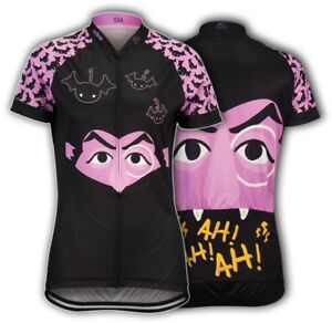 fff67f262 Brainstorm Gear Sesame Street Women s The Count Cycling Jersey